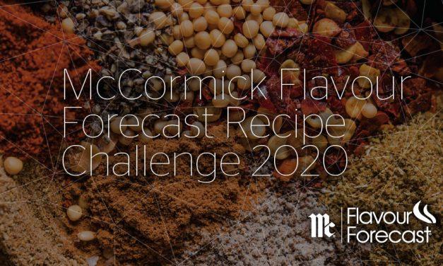 McCormick Flavour Forecast Recipe Challenge 2020