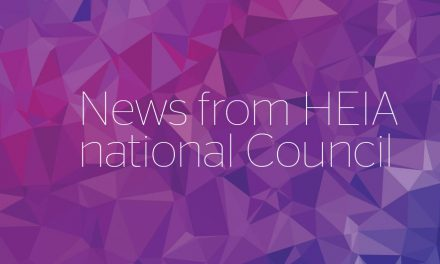 News from HEIA national Council