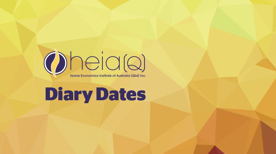 HEIA(Q) Diary Dates